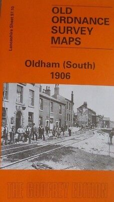 Old Ordnance Survey Detailed Maps Oldham South Lancashire 1906  Godfrey Edition