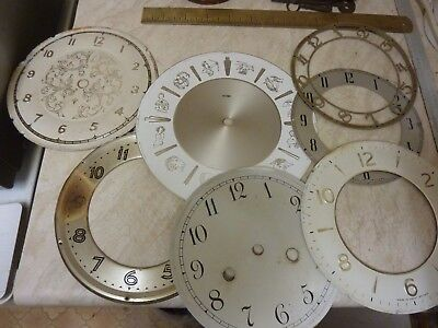 Few Used Mantle-Bracket Clock Dials-Chapter Rings