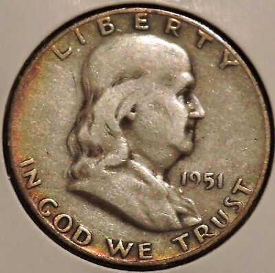 Franklin Half Dollar - 1951-S - Overstock Sale! - $1 Unlimited Shipping -282