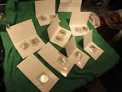 The American Mint 12 Great Leaders Great Words Silver Plated Complete Set Coins