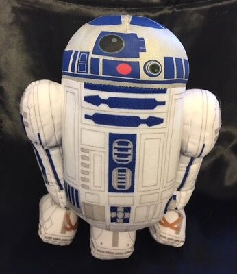 """1999 Applause R2D2 Droid Talking 11"""" Plush Sounds Beeping Star Wars Stuffed Toy"""