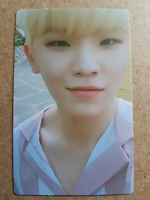 SEVENTEEN WOOZI SET THE SUN #1 Official PHOTOCARD 5th Album YOU MAKE MY DAY