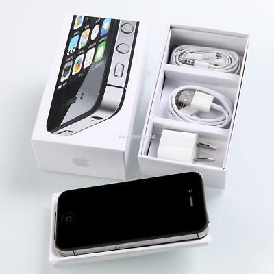 (NEW SEALED BOX) Apple iPhone 4s - 4G Smartphone - 16GB 32GB Unlocked Warranty#