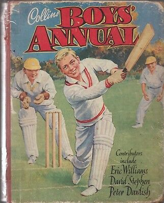 Collins Boys Annual  128 Pages Fully Illustrated Acceptable Condition