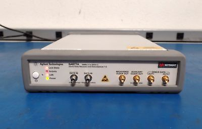 Keysight   Agilent: N4877A Opt. 232 Clock Data Recovery from 50 Mb s to 32 Gb s