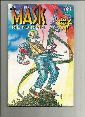 The Mask Returns 1 nm 1992 scarce Dark Horse Comics US Comics
