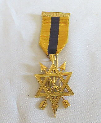 Masonic Order Of The Secret Monitor Second Degree Breast Jewel (2B)