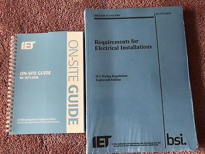 BS7671 18th Edition Regulations And Onsite Guide