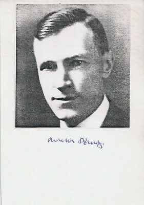 Nobelpreis - William Parry Murphy - Karte  handsigniert signiert signed - selten