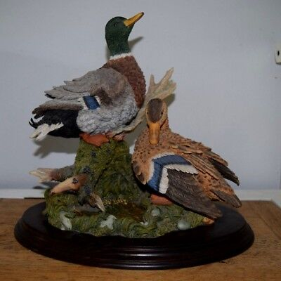 Country Artists Restful Days Large 12.5 Inch Tall Limited Ed. Ducks