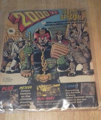 2000ad Sci Fi Summer Special 1979 Very Rare Vintage UK Comics
