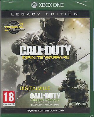 Call of Duty Infinite Warfare Legacy Edition Xbox One Brand New Sealed COD
