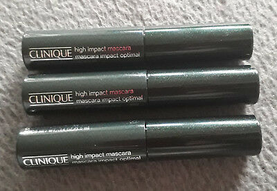 3x Clinique High Impact Mascara