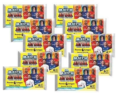 Topps Premier League Match Attax 2017/18 - 10 Booster - Nordic Edition