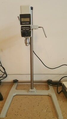 Caframo Overhead Stirrer/Mixer Digital 2000 Model RZR 2000 with chuck and stand