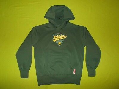 Hoodie OAKLAND ATHLETICS (12/14 years) (Youth L) MAJESTIC PERFECT !!! MLB