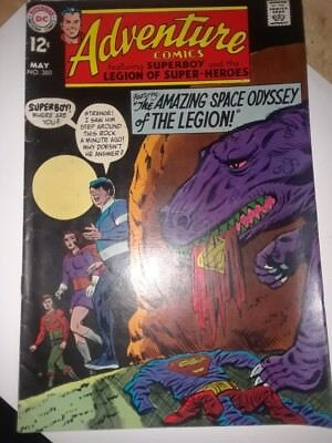 adventure comics issue 380 from 1969 legion of super heroes