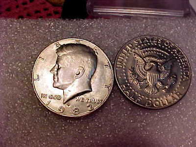 Roll 1982 Kennedy Half Dollar nice original Uncirculated