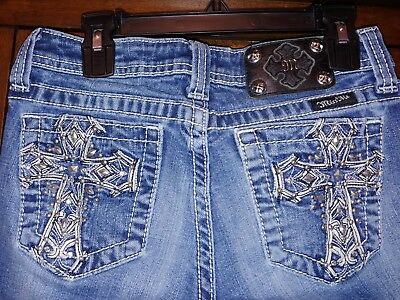 Really Nice Miss Me Bermuda Jeans Girls Size 14