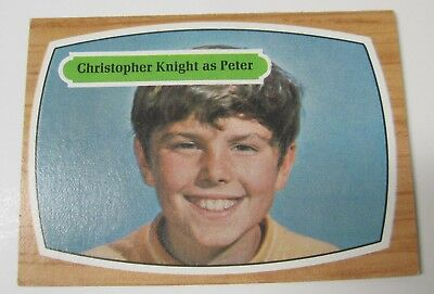 """1969 Topps The Brady Bunch Trading Card #7 """"christopher Knight As Peter"""""""