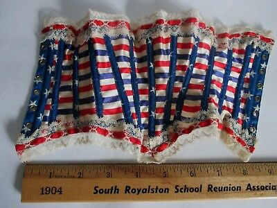 DOLL'S CORSET in BOX ROYAL WORCESTER CORSET CO. C 1898 SALESMAN'S SAMPLE