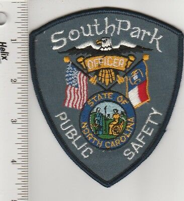 South Park North Carolina Police Department Public Safety Patch