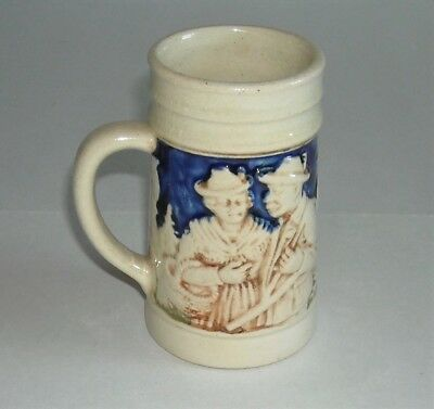 "Miniature GERMAN 4"" Mug Stein #4088 Mini Made in Germany"