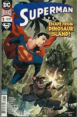 Superman Special: Escape From Dinosaur Island!