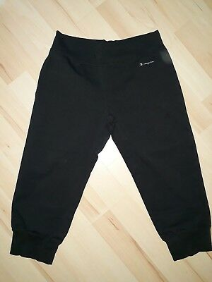 "Champion 3/4 Trainings Tights Damen ""S"" schwarz"
