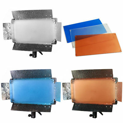 Lusana Studio 3 Color Gels Magnets  500 LED Photograpy Video Lighting
