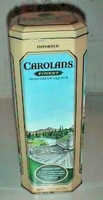 Carolans Metal Tin Finest Irish Cream Liqueur