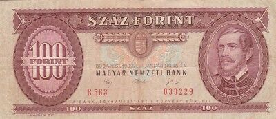 Ungarn / P-174a / 100 Forint / 1992