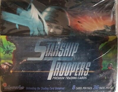 Starship Troopers Trading Cards: Sealed Box Of (36 Packs)