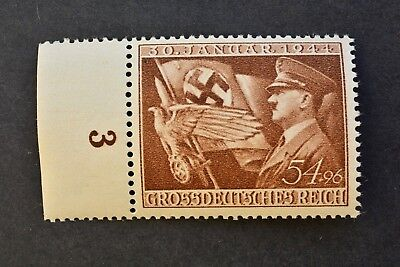 1944 German Stamps MNH** Third Reich German Assumption of Power by the Nazis