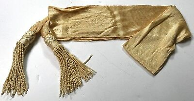American Civil War Union Or Confederate Reproduction General Officers Silk Sash
