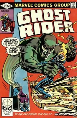Ghost Rider (1st Series) #57 1981 VG Stock Image Low Grade