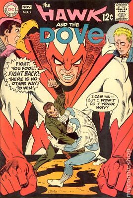 Hawk and Dove (1st Series) #2 1968 VG- 3.5 Stock Image Low Grade