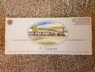 """Bachmann """"The Lafayette"""" A Complete Ready To Run Electric HO Scale Train Set VG+"""