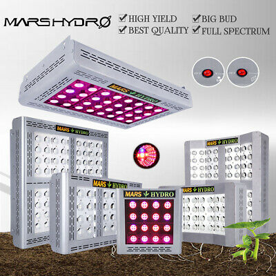 300W 400W 600W 1200W 1600W MarsHydro LED Grow Light Indoor Zuhause Pflanzenlampe