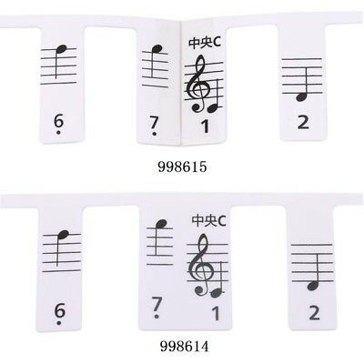 New Keyboard or Piano Laminated Sticker Sets Educational Toys 81 keys Z