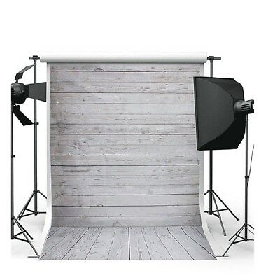 Background Backdrop ONLY 100% Cotton Muslin 7x5FT Meter Photography - Wood