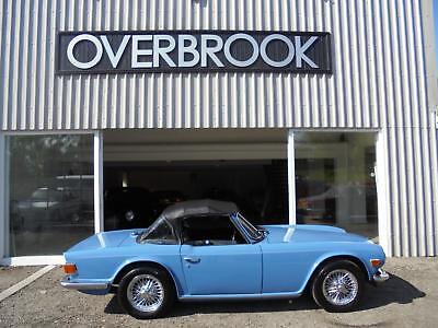 1973 Triumph TR6 VERY NICE EXAMPLE IN  FRENCH BLUE