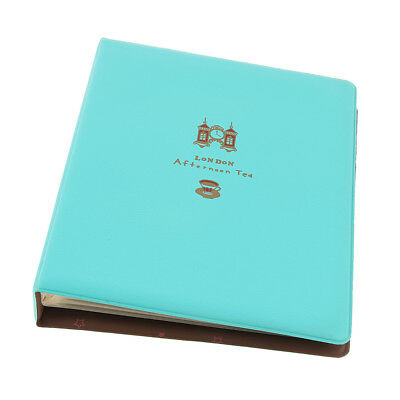 80 Sheets Album Baby Newborn Photo Storage Book for 5 inch Pictures - Blue