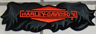 Harley Davidson Rare Broken Wing Patch 8 1/2 Inch Patch