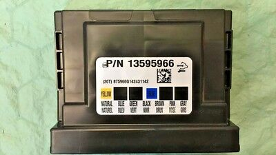 13595966 NEW CHEVY or GMC BCM Body Control Module - $75 00