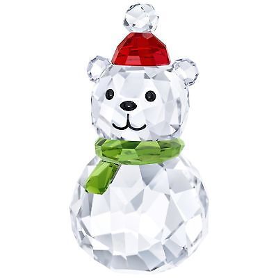 Swarovski Christmas Rocking Polar Bear # 5393459 New in Original Box