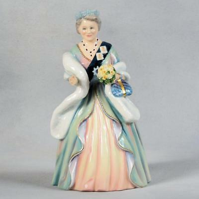Signed Limited Edition Royal Doulton Figurine- Queen Elizabeth, The Queen Mother