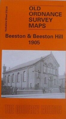 Old Ordnance Survey Maps Beeston & Beeston Hill Yorkshire 1905 Godfrey Edition