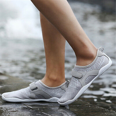 AU Men Beach Water Yoga Quick-Dry Slip On Swim Shoes Soft Pool Exercise Sneakers