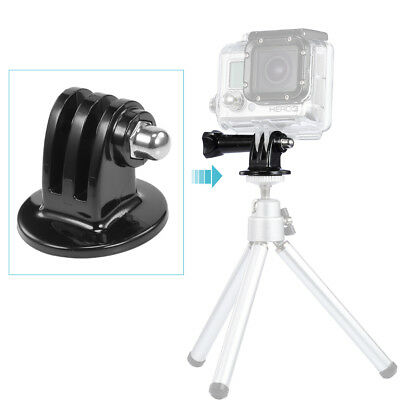 Neewer Black Tripod Mount Adapter for GoPro Hero 4 3+ 3 2 1 Camera